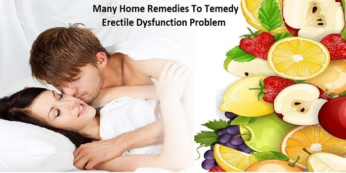 Many Home Remedies To Remedy Erectile Dysfunction Problem