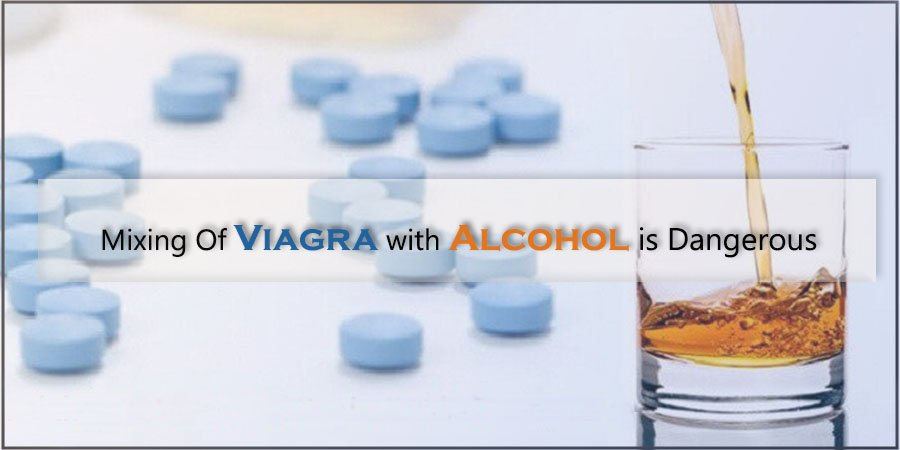 Mixing Of Viagra with Alcohol is Dangerous