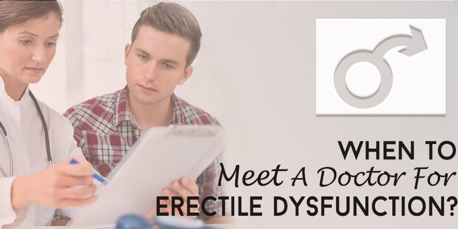 When to See a Doctor for Erectile Dysfunction?